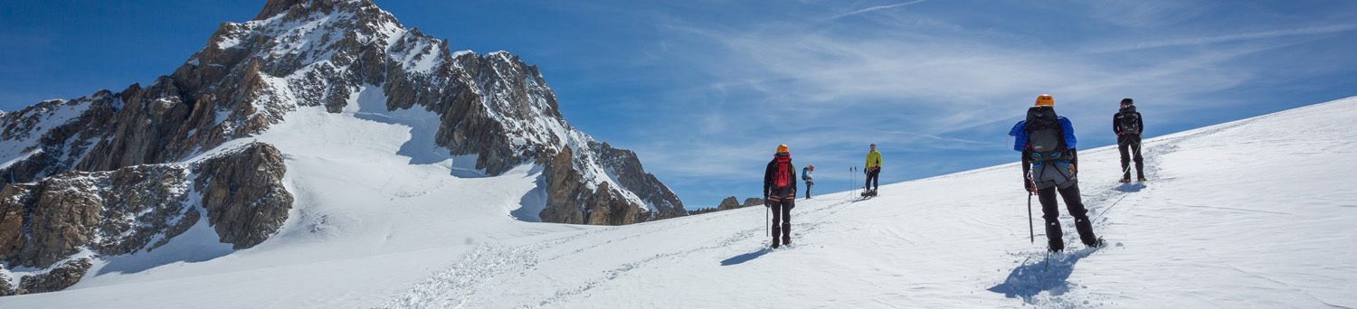 Panocover for album titled: Mountaineering in Chamonix